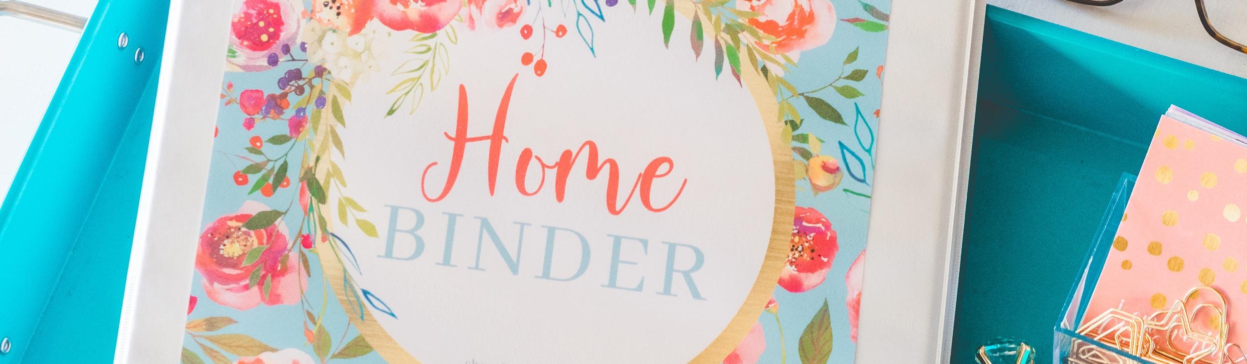 Carrie Elle Printable Club Home Binder