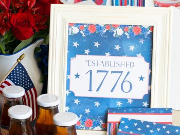Printable 4th of July Party Pack