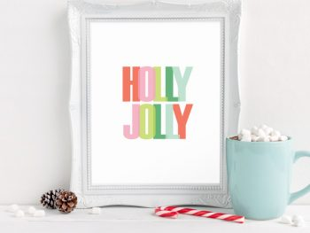 Printable Christmas Sayings Wall Art