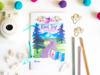 Road Trip Journal for Kids