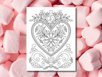 Valentine's Day Heart Printable Shop.CarrieElle.com